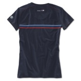 Женская футболка BMW Motorsport Motorsport Fashion T-Shirt, ladies, Team Blue, артикул 80142285804