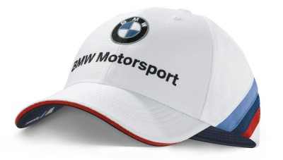 Бейсболка BMW Motorsport Team Cap for Collectors, unisex, White