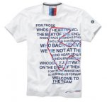 Мужская футболка BMW Motorsport Graphic T-Shirt, men, White
