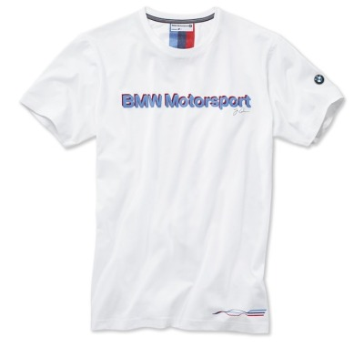 Мужская футболка BMW Motorsport Fan T-Shirt, men, White