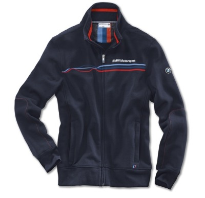 Мужская куртка BMW Motorsport Sweat Jacket, men, Team Blue