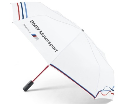 Складной зонт BMW Motorsport Folding Umbrella, White