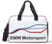 Спортивная сумка BMW Motorsport Sports Bag, White