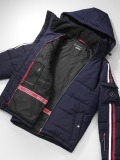 Мужская куртка Mercedes-Benz Men's Jacket Schöffel, Navy, артикул B66954281