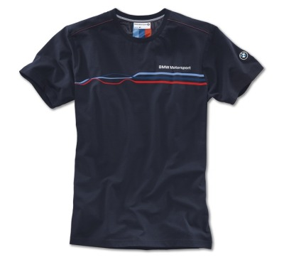 Мужская футболка BMW Motorsport Fashion T-Shirt, men, Team Blue