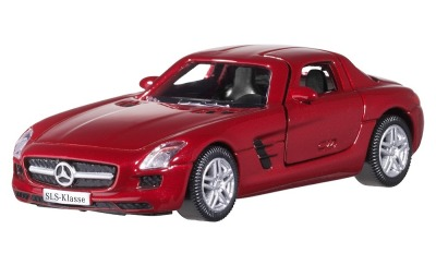 Модель Mercedes-Benz SLS AMG, Le Mans Red, Scale - 3 inch