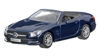 Модель Mercedes-Benz SL-Class, Cavansite Blue, Scale - 3 inch
