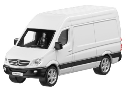 Модель Mercedes-Benz Sprinter, White Arctic, Scale - 3 inch
