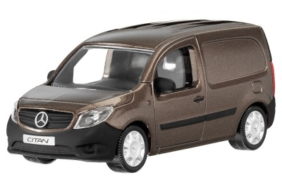 Модель Mercedes-Benz Citan C415, Brown Limonit, Scale - 3 inch