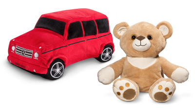 Мягкая игрушка Mercedes-Benz Double Side Plus Toy Bear - G Class