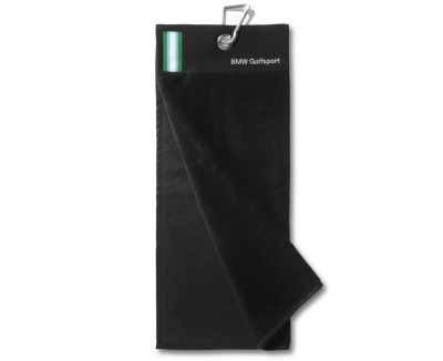 Спортивное полотенце BMW Golfsport Club Towel, Black