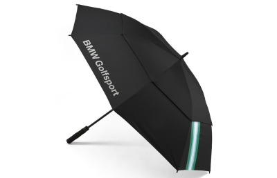 Зонт-трость BMW Golfsport Functional Umbrella, Black