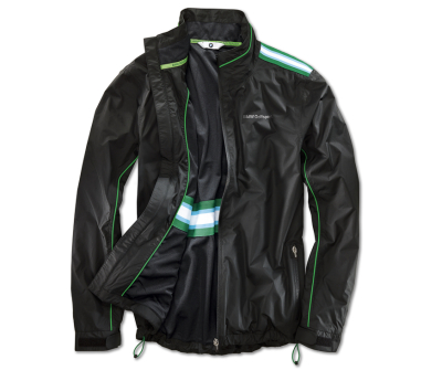 Мужская куртка BMW Golfsport Functional Jacket, men, Black/Green