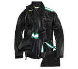 Мужская куртка BMW Golfsport Functional Jacket, men, Black/Green, артикул 80142285742