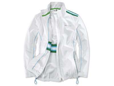 Женская куртка BMW Golfsport Functional Jacket, ladies, White/Green