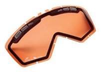 Двойной визор для мотоочков BMW Motorrad Double visor for GS Enduro goggles, orange 2016