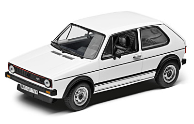 Модель автомобиля Volkswagen Golf I GTI (1976), White, Scale 1:43