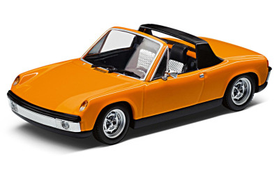 Модель автомобиля Volkswagen-Porsche 914, Scale 1:43, Signal Orange