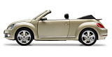 Модель автомобиля Volkswagen Beetle Cabrio, Moon Rock Silver Metallic, Scale 1:18, артикул 5C3099302P7W