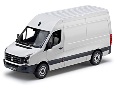 Модель автомобиля Volkswagen Crafter GP, Candy White, Scale 1:43