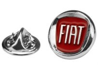 Металлический значок Fiat Badge Pins With New Fiat Logo