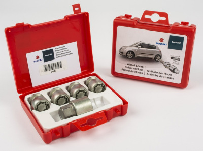 Секретки на колеса Suzuki Locking Wheel Nut Set, SICUSTAR