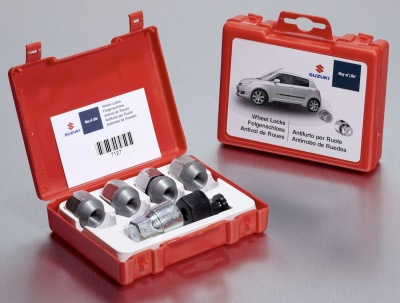 Секретки на колеса Suzuki Locking Wheel Nut Set, SICURIT