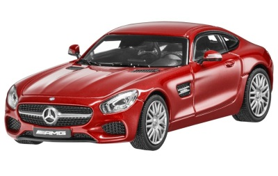 Модель автомобиля Mercedes-AMG GT S, Hyacint Red Metallic, 1:43 Scale