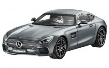 Модель Mercedes-AMG GT S, Selenite Grey Magno Metallic, 1:18 Scale