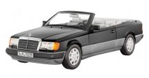 Модель Mercedes-Benz 300 CE-24 Cabriolet A124 (1992–1993), Black Metallic, 1:18 Scale