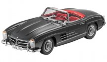 Модель Mercedes-Benz 300 SL Roadster, W198, 1957-1963, Grey, 1:18 Scale
