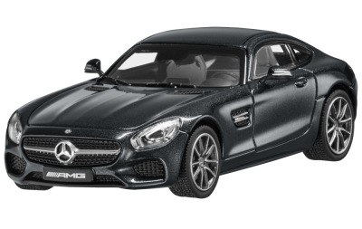 Модель автомобиля Mercedes-AMG GT S, Magnetite Black Metallic, 1:43 Scale