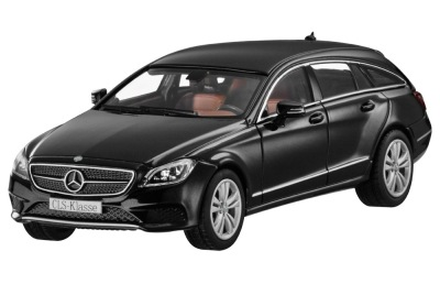 Модель Mercedes-Benz CLS-Class Shooting Brake, Obsidian Black Metallic, 1:43 Scale