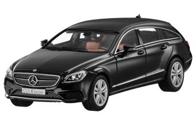 Модель Mercedes-Benz CLS-Class Shooting Brake, Obsidian Black Metallic, 1:43 Scale