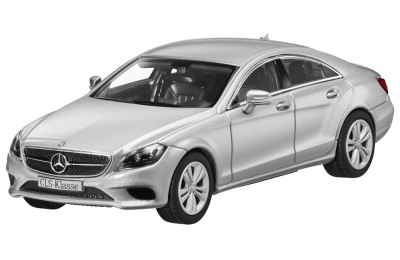 Модель Mercedes-Benz CLS-Class, Iridium Silver, 1:43 Scale