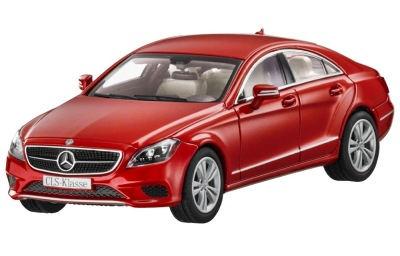 Модель Mercedes-Benz CLS-Class, Designo Hyacint Red Metallic, 1:43 Scale
