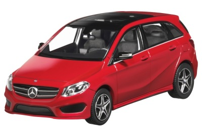 Модель Mercedes-Benz B-Class AMG Styling, Jupiter Red, 1:43 Scale