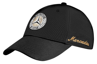 Женская бейсболка Mercedes-Benz Women's cap with Swarovski, Classic, Black