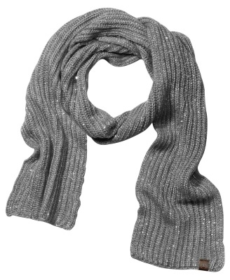 Женский шарф Mercedes-Benz Women's polyacrylic scarf, Grey