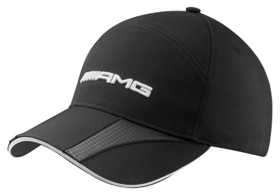 Мужская бейсболка Mercedes-Benz Men's cap, AMG, Carbon fibre-look details