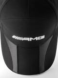 Мужская бейсболка Mercedes-Benz Men's cap, AMG, Carbon fibre-look details, артикул B66952706