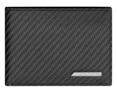 Кожаный кошелек Mercedes-Benz Mini wallet, AMG, Carbon Look