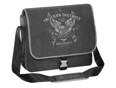 Сумка Mercedes-Benz Shoulder bag, Trucker District, Grey
