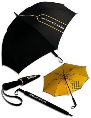 Зонт трость Renault Sport Stick Umbrella, Black