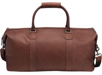 Кожаная сумка Land Rover Heritage Leather Holdall, Brown