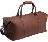 Кожаная сумка Land Rover Heritage Leather Holdall, Brown, артикул LRLUGNHH