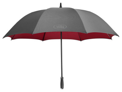 Зонт-трость Land Rover Golf Umbrella, Black And Red 2017