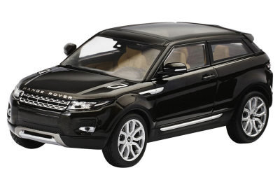 Модель автомобиля Range Rover Evoque 3 Door, Scale 1:43, Santorini Black