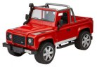 Модель автомобиля Land Rover Defender Station Wagon, Scale 1:16, Red