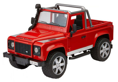 Игрушечный автомобиль Land Rover Bruder Defender Pick Up Toy, Scale 1:16, Orange